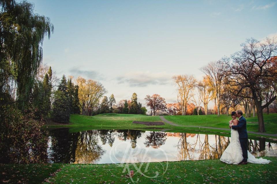 Fall wedding Minneapolis Golf Club