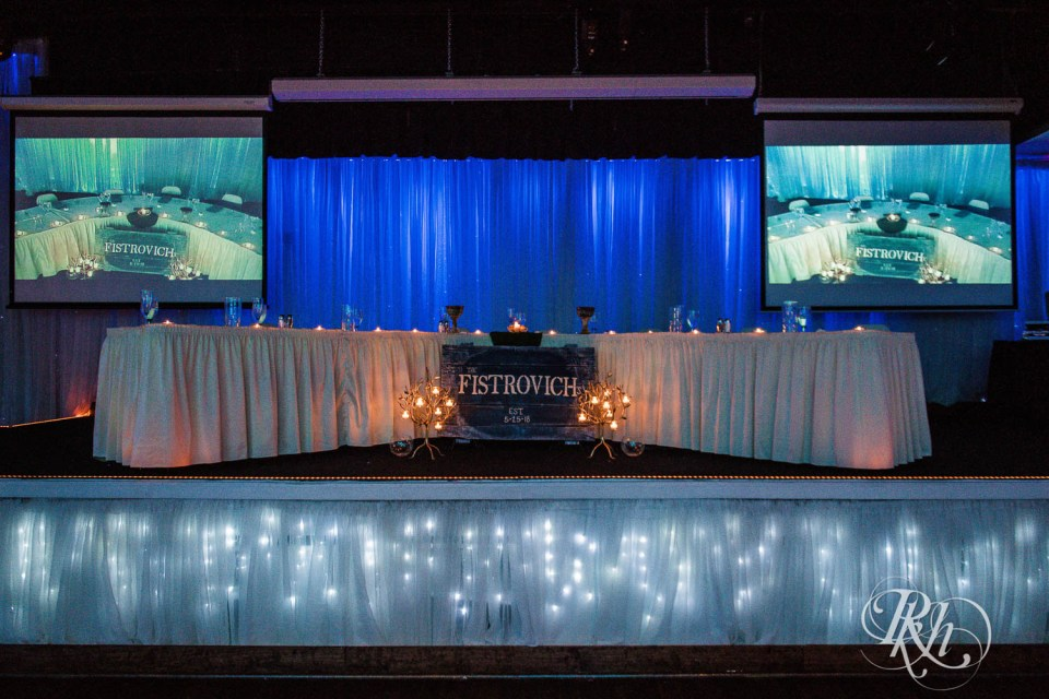 Profile Event Center head table
