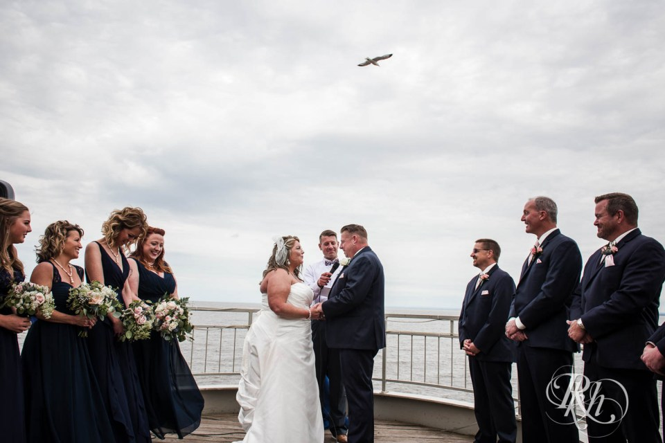 Duluth wedding ceremony