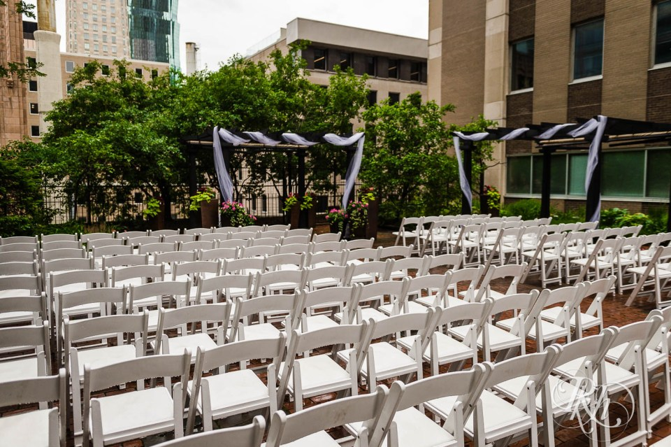 Crowne Plaza Minneapolis Northstar Downtown rooftop ceremony space