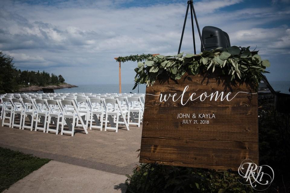 Bluefin Bay ceremony space