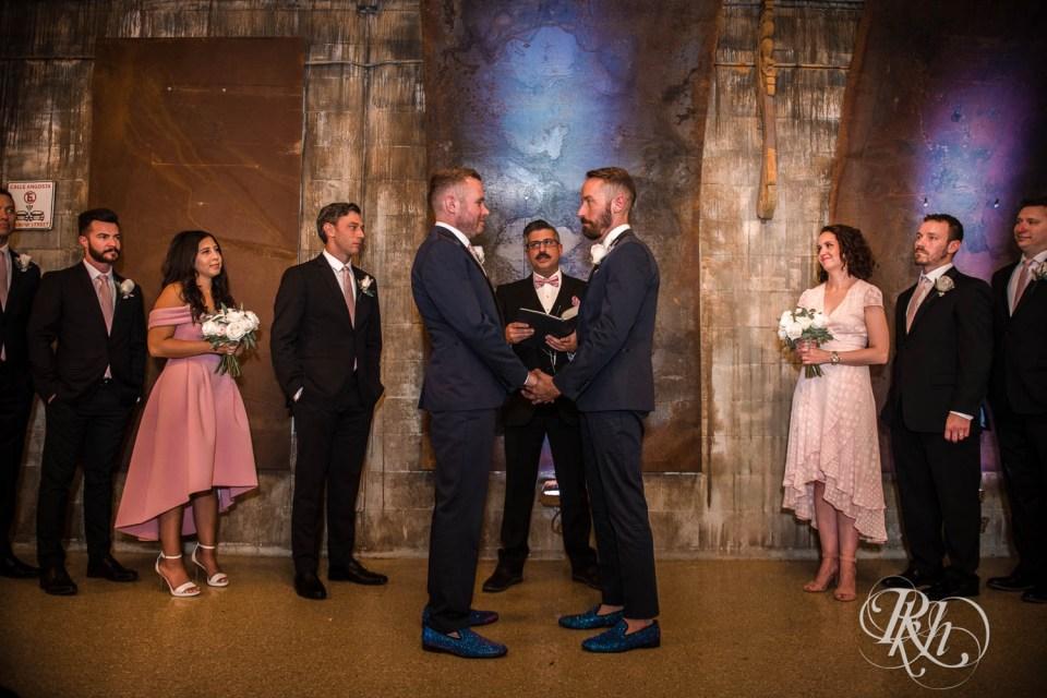 Warehouse Winery wedding