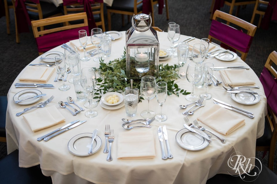 Oak Ridge Conference Center table setting