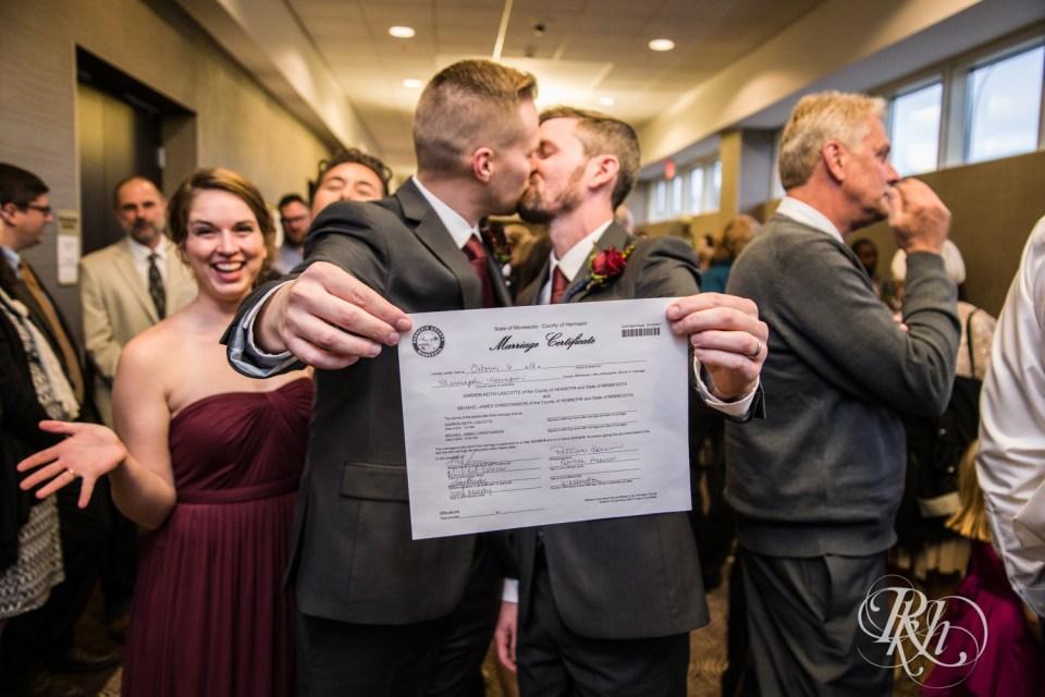 Minnesota LGBT Wedding Photographer