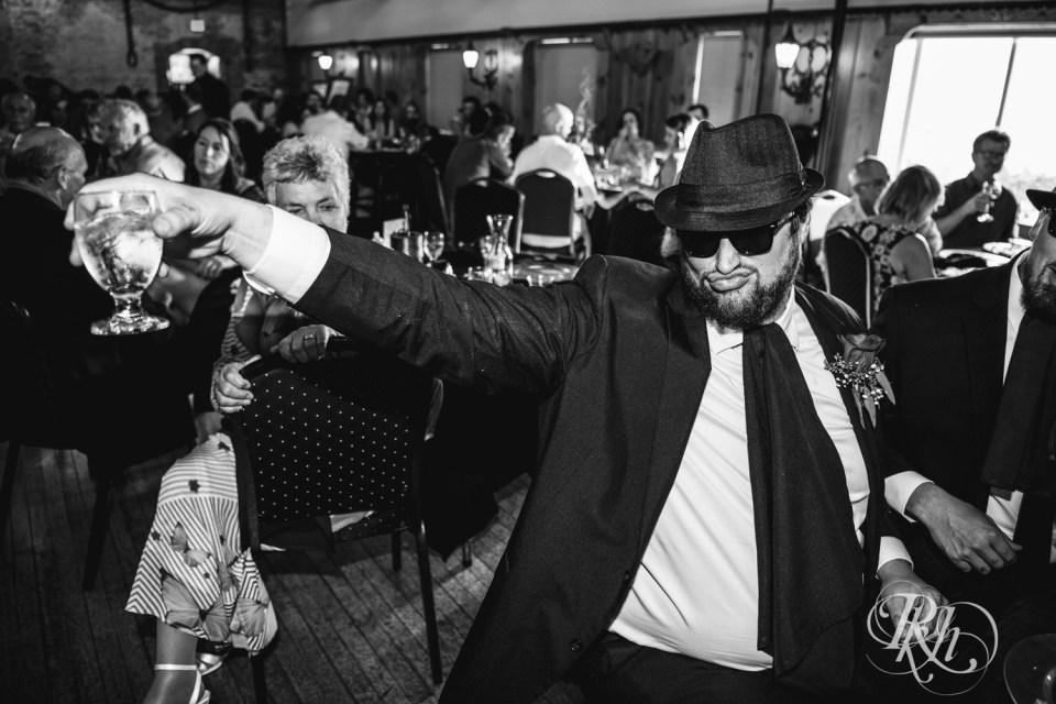 Blues Brothers groomsmen