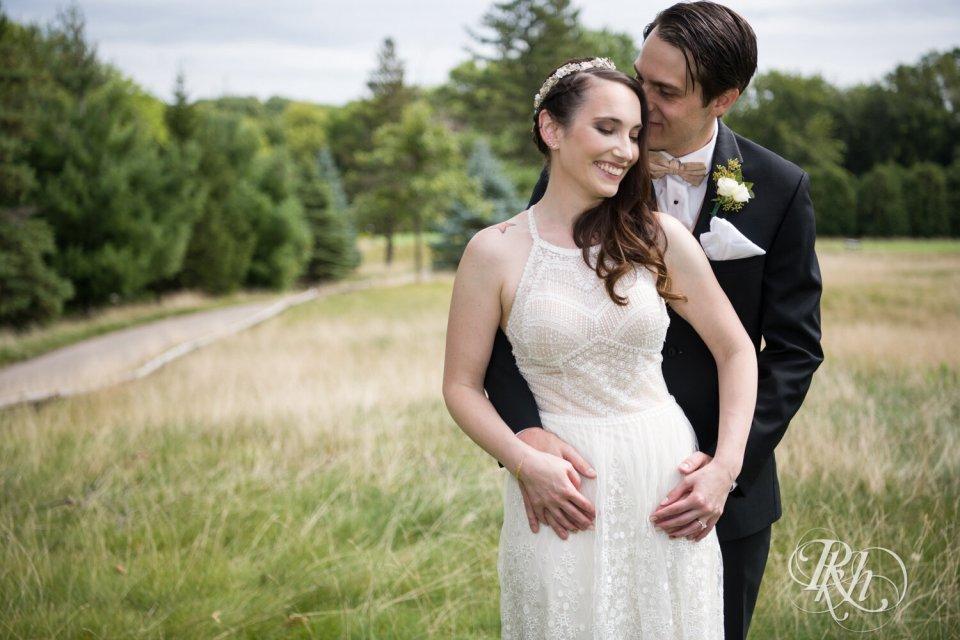 Beautiful Sunday wedding couple