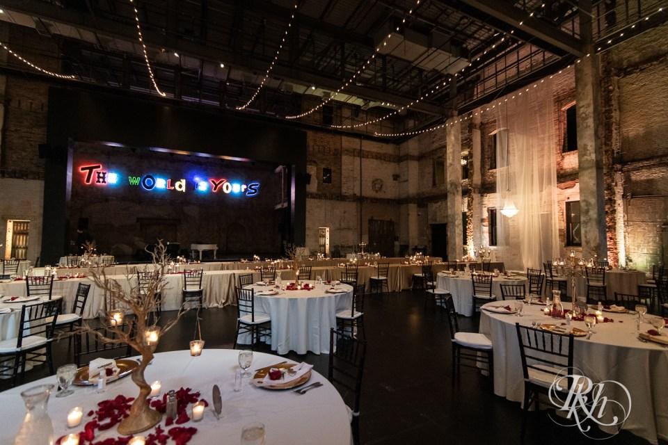 aria wedding decor
