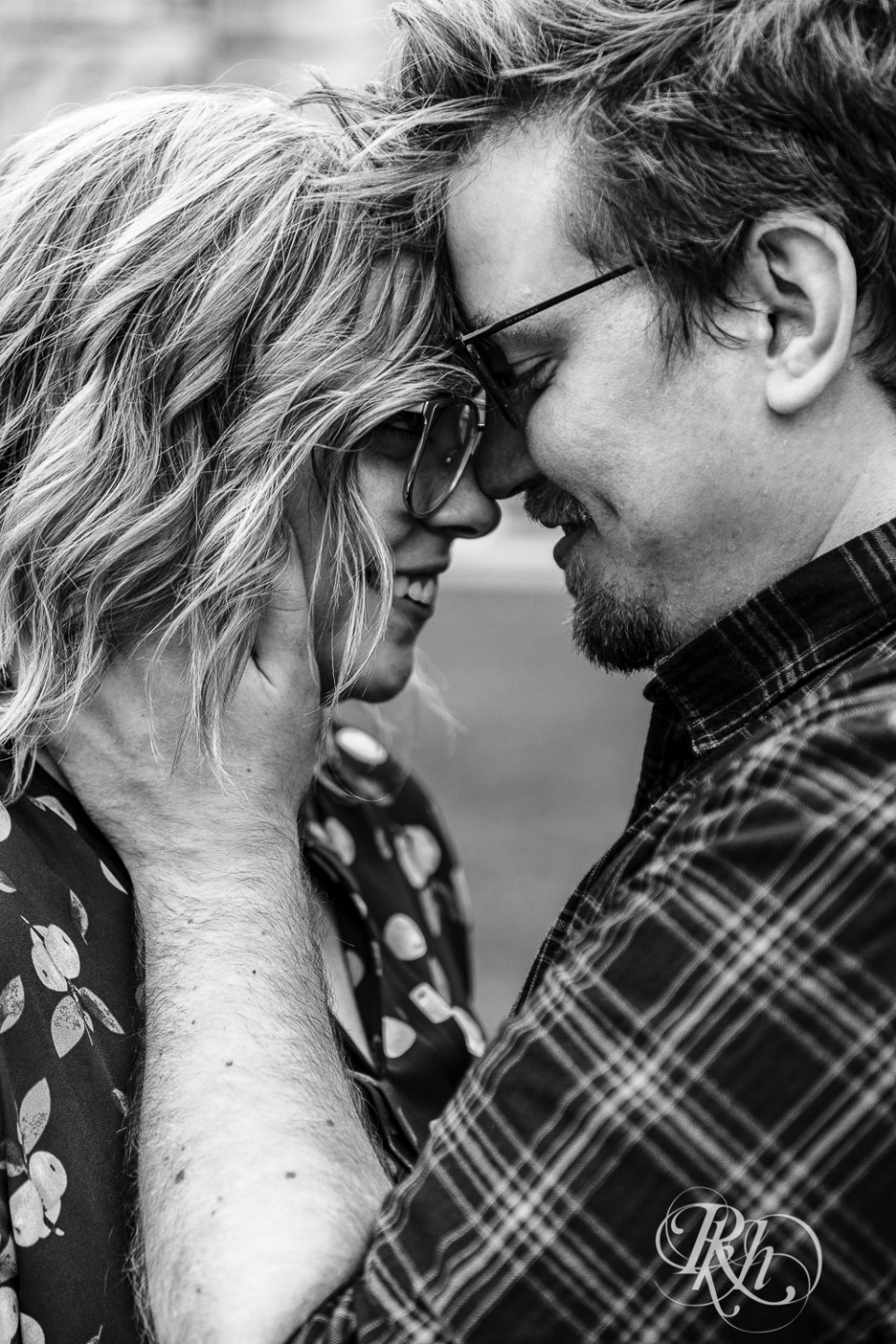 engagement photography glasses