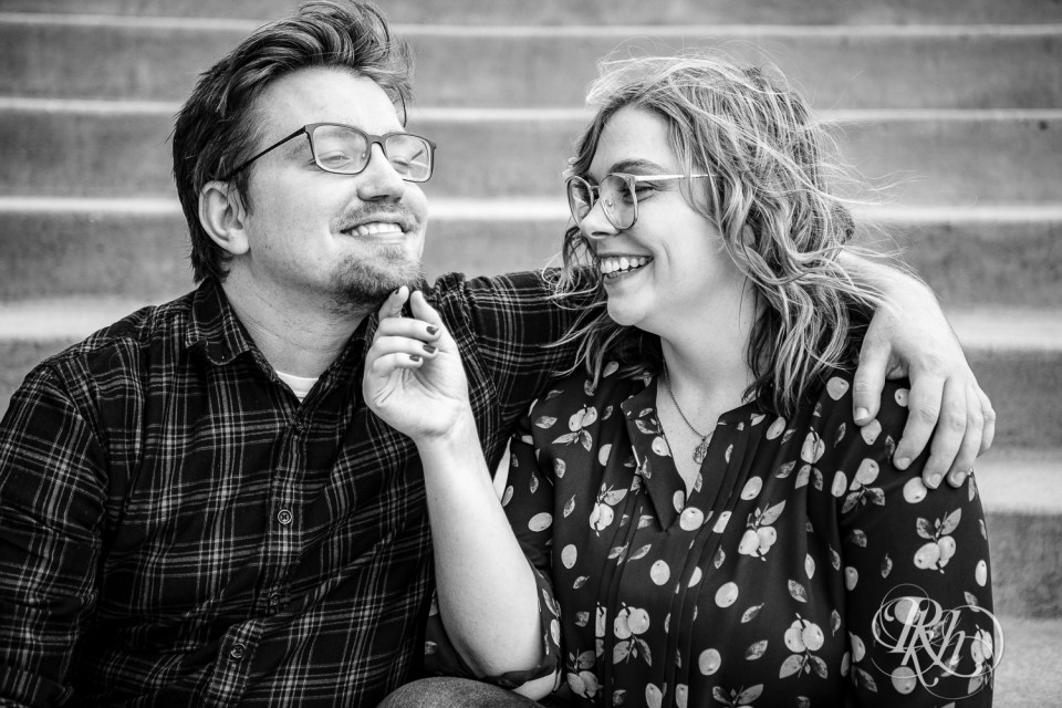 Saint Paul engagement photography