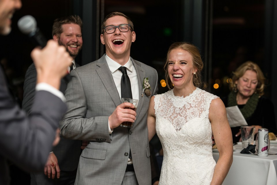 best of 2020 wedding couple laughing