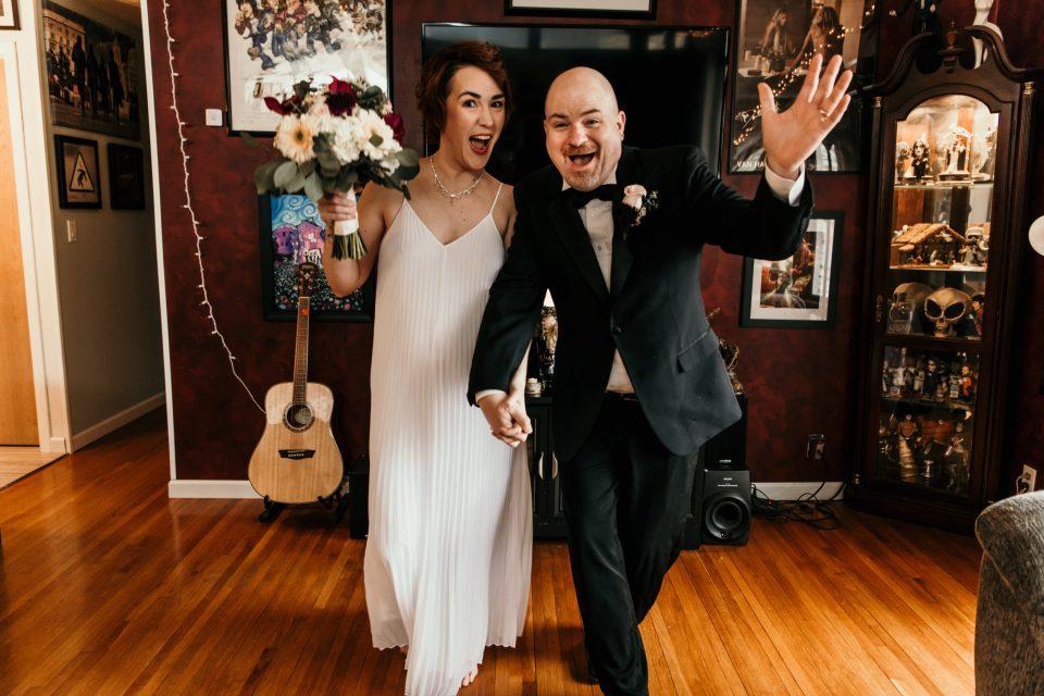 at home wedding 2020