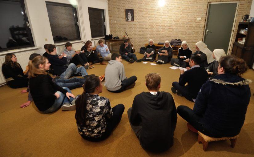 Bijeenkomst bij zusters Dordrecht