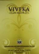 Viveka college magazine 2015
