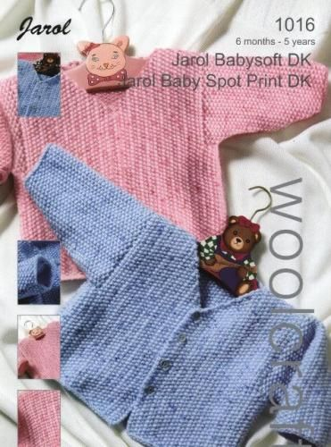 1016 DK Baby Cardigan and Sweater