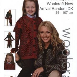 1024 DK Women and Childs Cardigan