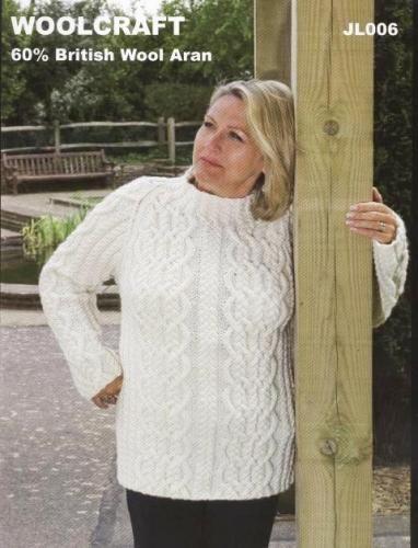 JL006 Aran Womens Sweater