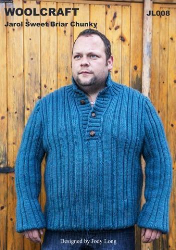 JL008 Chunky Mens Sweater