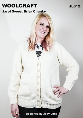JL012 Chunky Womens Cardigan