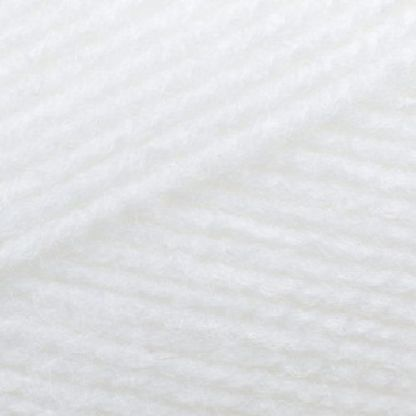 James C Brett Baby 4Ply BY4 White