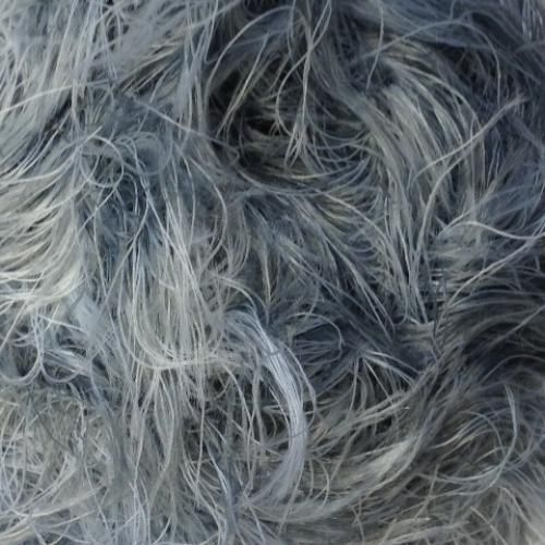 100g Grey and White H2 James C Brett Faux Fur Knitting Wool Yarn