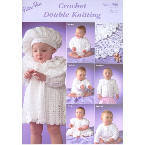 af3eca903 Peter Pan Crochet Book 290 - RKM Wools Direct shop