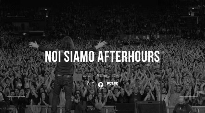 """Esce il 25 gennaio  """"NOI SIAMO AFTERHOURS"""" doppio cd live + dvd"""