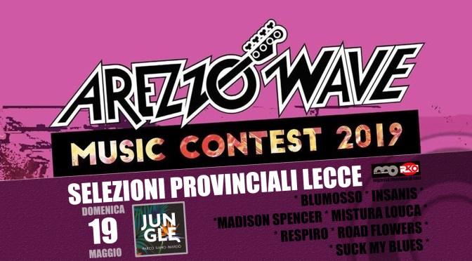 Arezzo Wave Music Contest 2019 selezioni salentine