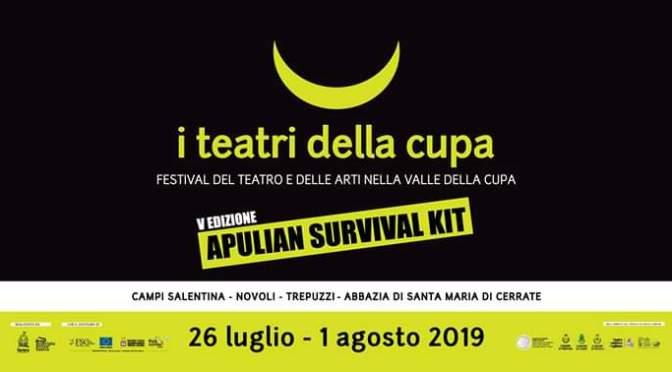 I TEATRI DELLA CUPA APULIA SURVIVAL KIT
