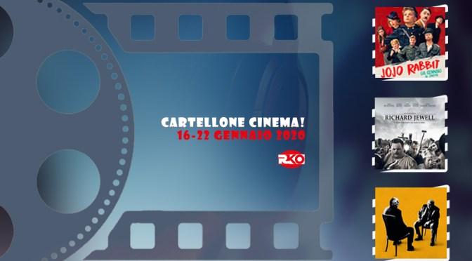 Cartellone Cinema – tutte le uscite cinematografiche dal 16 al 22 gennaio 2020
