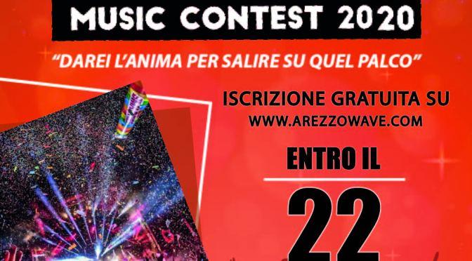 Arezzo Capitale della musica rock, tra novità e giovani talenti: tutto pronto per Arezzo Wave Contest 2020