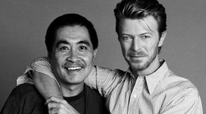 Quel giorno in cui ho intervistato Masayoshi Sukita, fotografo ufficiale di David Bowie!