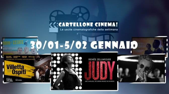 Cartellone Cinema – Tutti i film nelle sale dal 30/01 al 5/2/2020