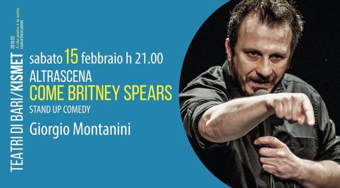 Il Teatro Kismet ospita Giorgio Montanini. Ecco l'intervista