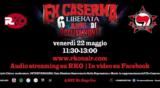 Ex-Caserma Rossani, liberata da 6 anni