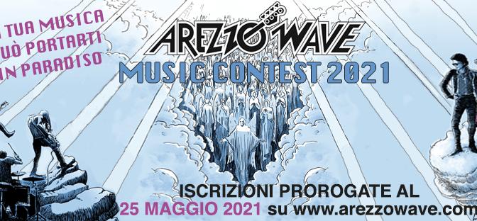 AREZZO WAVE 2021: iscrizioni al contest prorogate al 25 maggio