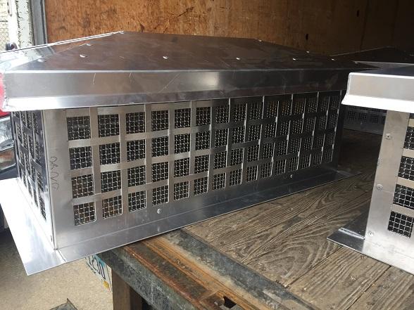 Aluminum Chimney Roof Cap