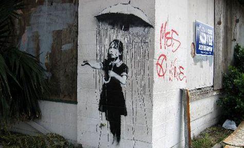 Banksy painting