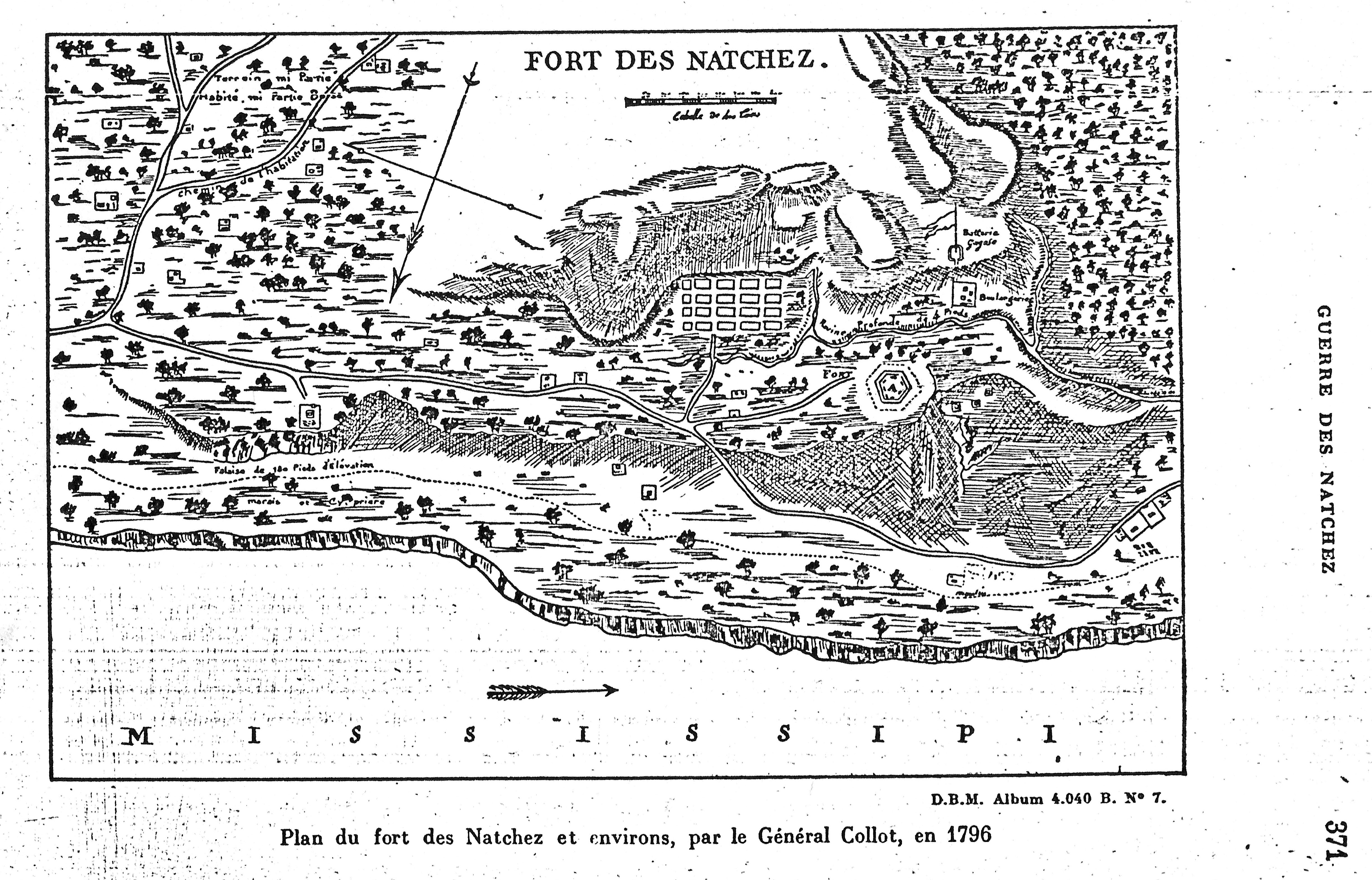 Early Maps Of Colonial Natchez