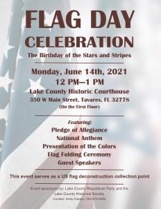 Flag Day Celebration @ Lake County Historic Courthouse