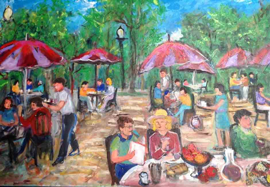 Cafe in the Park