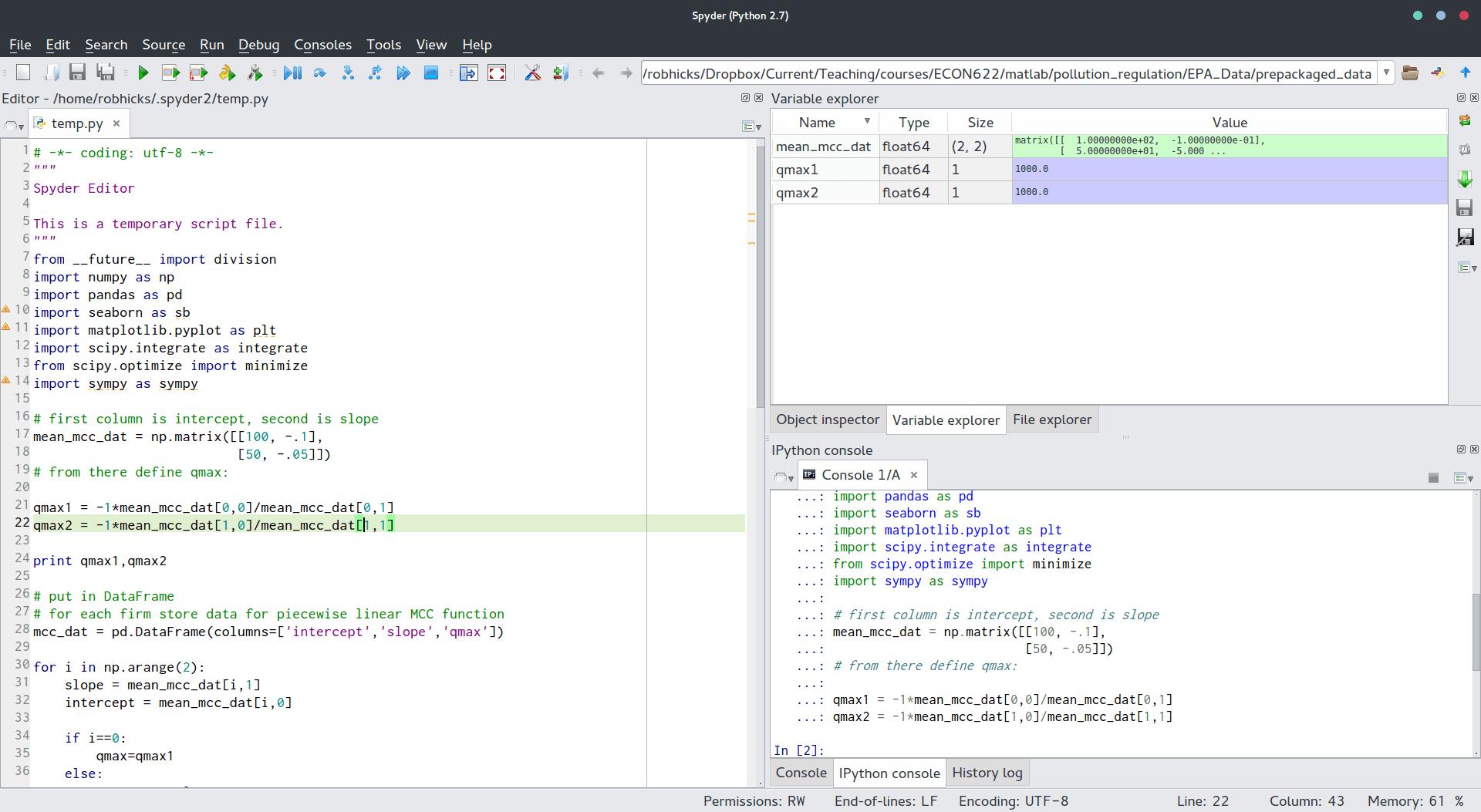 Linear Algebra And Python Basics
