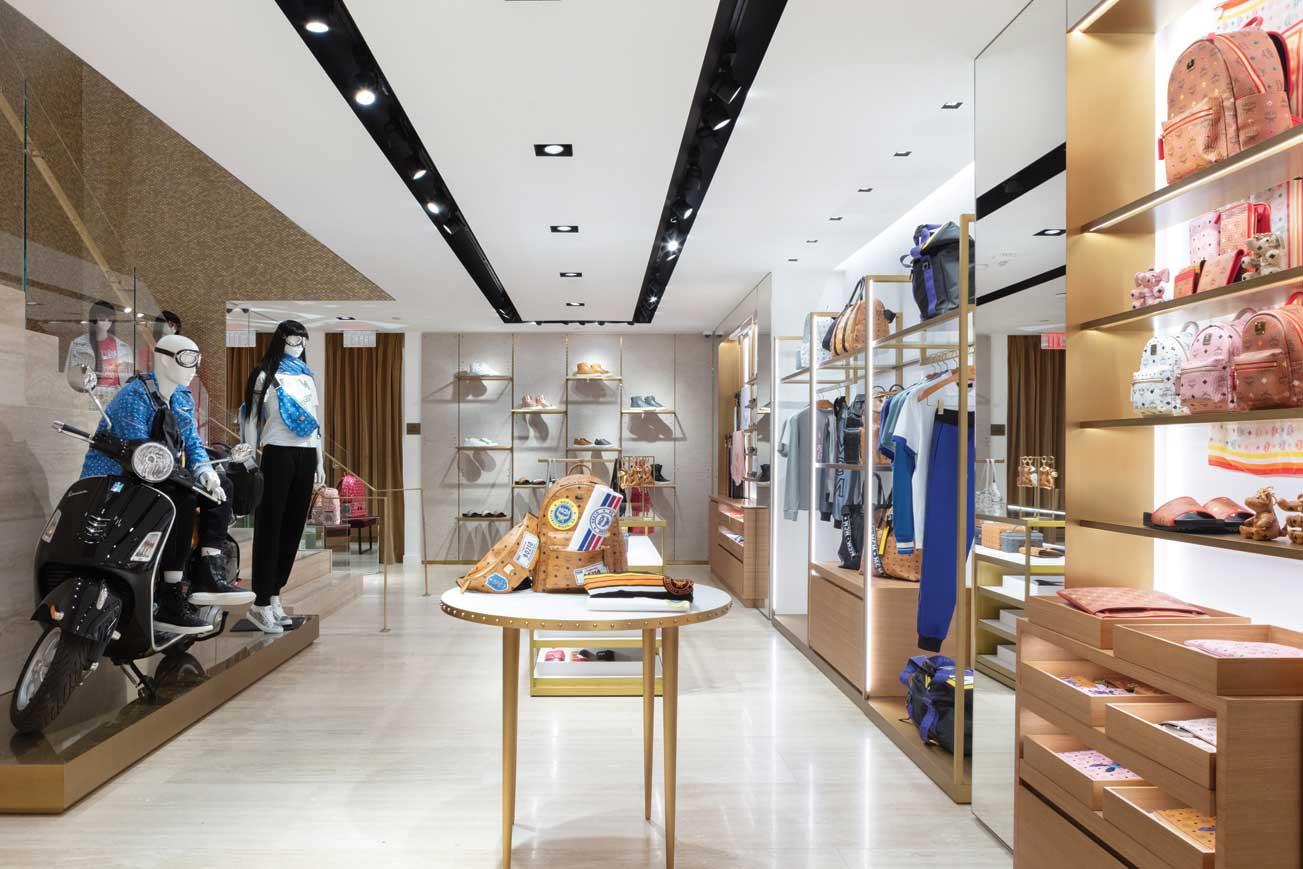 Mcm Classic Design Futuristic Materials Retail