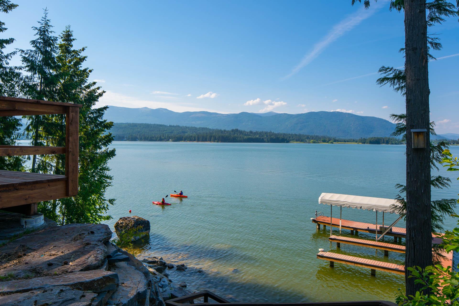 Lake Pend Oreille Kayakers