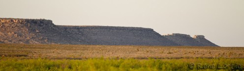 Le long du sentier à Fort Stockton