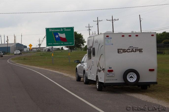 Mon arrivée au Texas