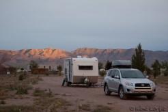 Mon site de camping (à comparer avec celui d'hier on comprend pourquoi je suis ici pour longtemps)