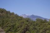 Twin Peaks de Flagstaff. Il y a encore de la neige au sommet.