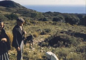 Bergers dans les terres derrière la Costa del Sol