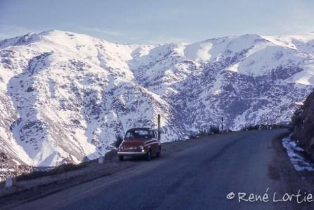 La Fiat 500 dans le Haut-Atlas