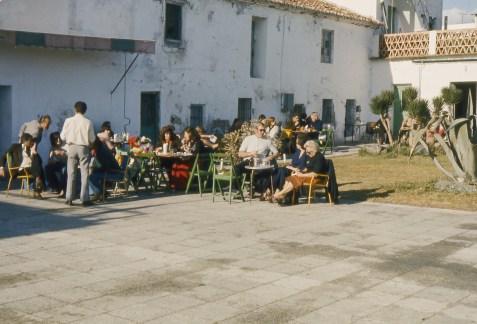 Terrasse de la Carihuela de Torremolinos